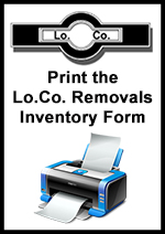 Print the Lo.Co. Removals Inventory Form