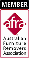 Member of the Australian Furniture Removers Association