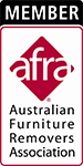 Australian Furniture Removers Association membership logo