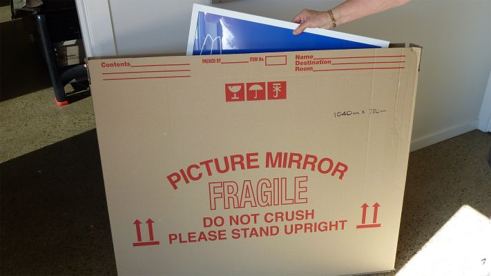 Packing Carton for Picture or Mirror